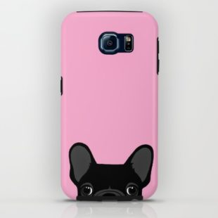 IPHONE & IPOD CASE GALAXY S6 TOUGH CASE French Bulldog by Anne Was Here
