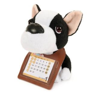 THE DOG ぬいぐるみカレンダー2017 フレンチブルドッグ