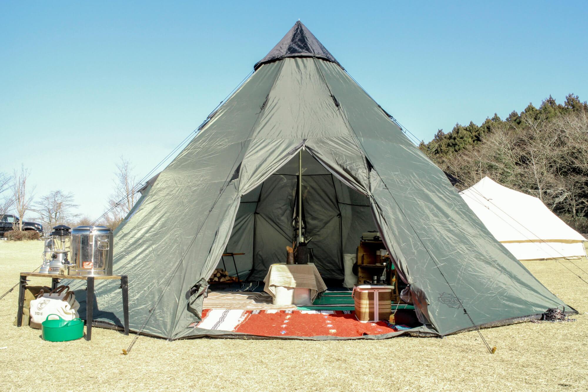 フレンチブルドッグ,キャンプ