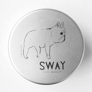 SWAY アルミ弁当箱 丸型