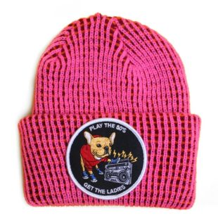 PLAY THE 80'S BEANIE