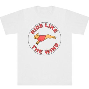 RIDE LIKE THE WIND TEE