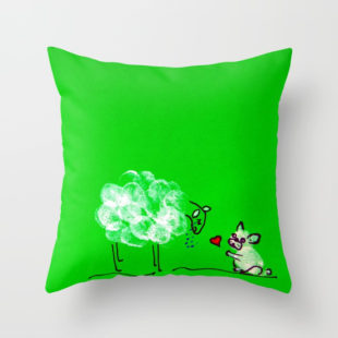 THROW PILLOW COVER (16
