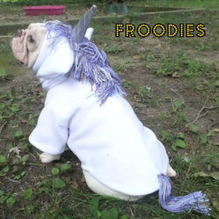 white Unicorn Froodie