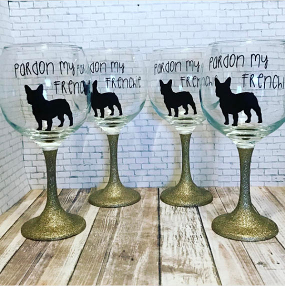 フレンチブルドッググラス