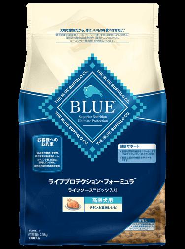 ブルーバッファロー ライフプロテクション・フォーミュラ 高齢犬用  チキン&玄米レシピ 900g