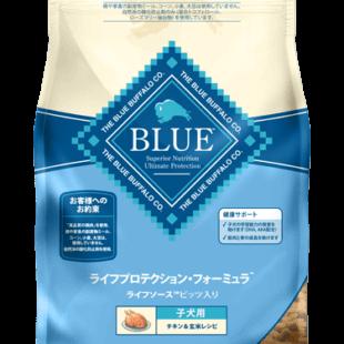ブルーバッファロー ライフプロテクション・フォーミュラ 子犬用  チキン&玄米レシピ 900g