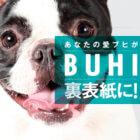 【追加情報!】愛ブヒが『BUHI』の裏表紙で広告モデルに!BLUE(ブルー)コラボキャンペーン