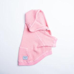 ヴィンテージワッフルパーカー(ピンク)