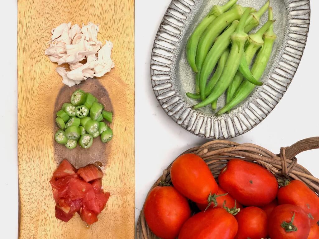 野菜とささみ