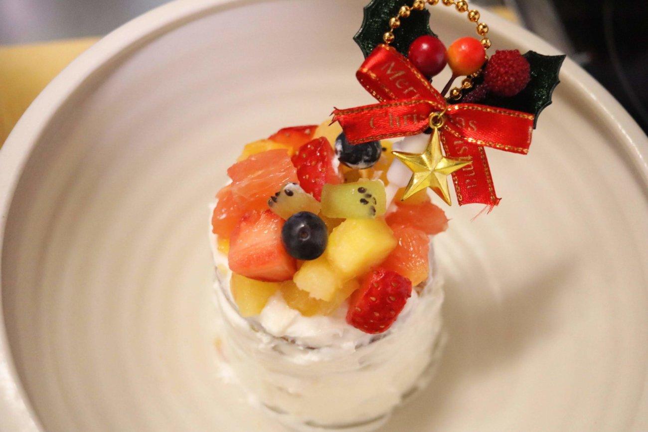 フレンチブルドッグ,クリスマスケーキ