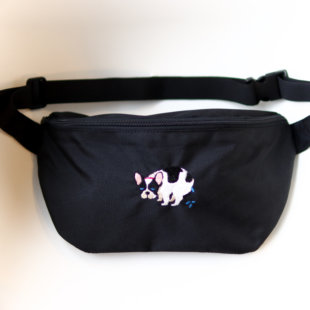 POOPING BODY BAG【FRENCH BULLDOG LIFE × PEGION】