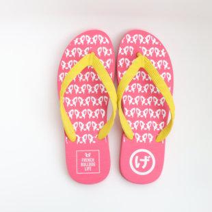 [レディース]ピンク×イエロー(22〜24.5cm)