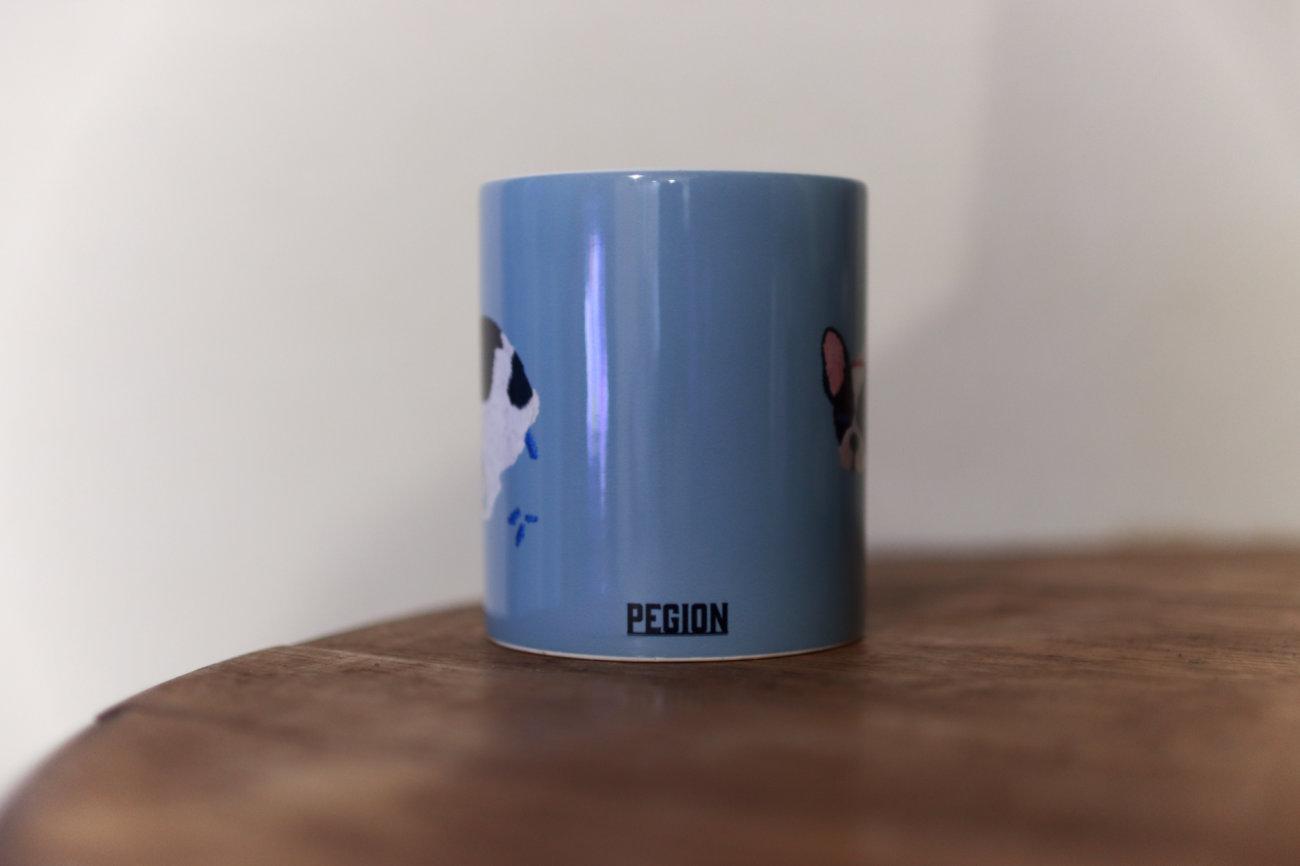 フレンチブルドッグ,pegion,マグカップ
