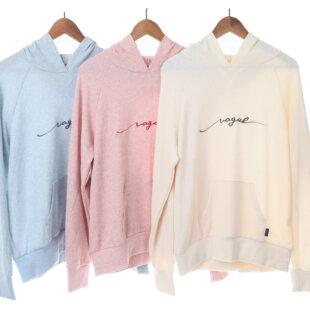 [ヒト様]Vague light sweat hoodie
