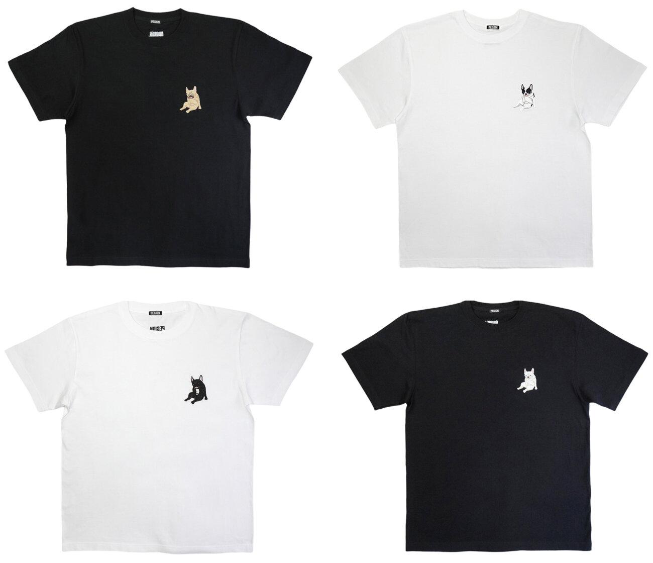 フレンチブルドッグ,チンスリ,Tシャツ